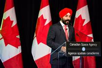 The Honourable Navdeep Bains welcomes new astronauts