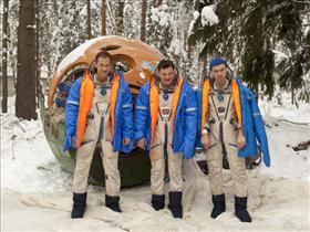 Roughing it up survival-style in Russia
