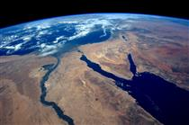 Egypt seen from space