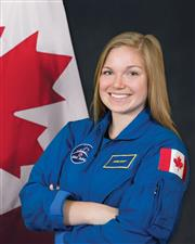 Canadian Space Agency Astronaut Jennifer Sidey
