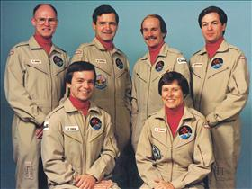 First team of Canadian astronauts