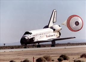 Landing of Shuttle Endeavour, mission STS-100