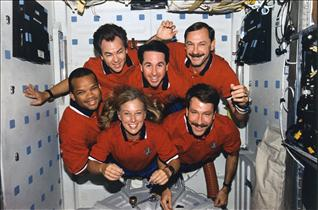 Crew of mission STS-85