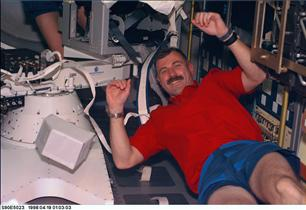 Astronaut Dave Williams, mission STS-90