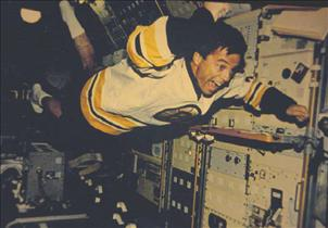 Astronaut Bob Thirsk, mission STS-78