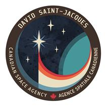 Écusson de la mission de l'astronaute canadien David Saint-Jacques