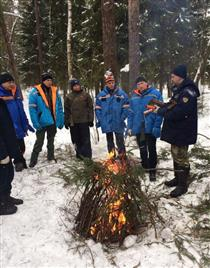CSA astronaut David Saint-Jacques takes part in winter survival training
