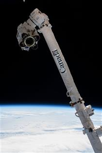 Canadarm2 – David Saint-Jacques à bord de la Station spatiale internationale