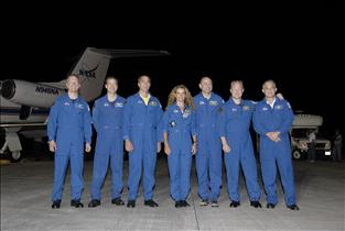 The STS-127 crew