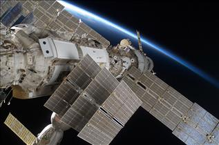 The International Space Station's Russian modules, Zarya and Zvezda