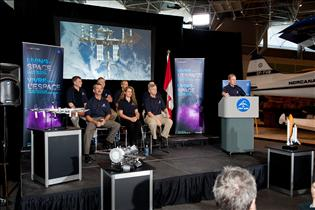 Canadian Astronauts Inaugurate New Interactive Exhibition on Living in Space in Ottawa