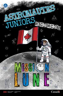 Affiche de l'initiative Astronautes juniors (dimensions : 11X17)