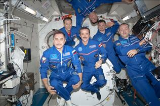 Expedition 35 in Kibo