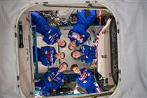 Membres de l'équipage de la mission Expedition 59
