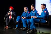 Joshua Kutryk and Jenni Sidey's first visit to the CSA as Canadian astronauts