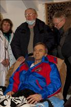 Canadian astronaut Robert Thirsk received a warm welcome from Kazakh authorities