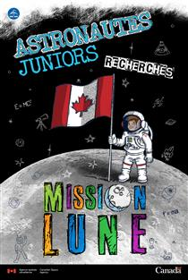 Affiche de l'initiative Astronautes juniors (dimensions : 24X36)