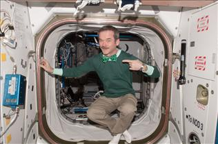 St. Patty's Day in Space