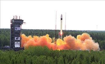Launch of the Canadian MOST Space Telescope