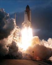 Launch of mission STS-74