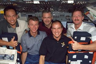 Crew of mission STS-97
