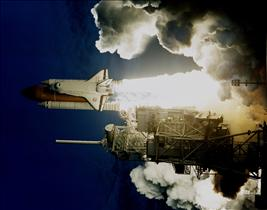 Launch of Space Shuttle Endeavour