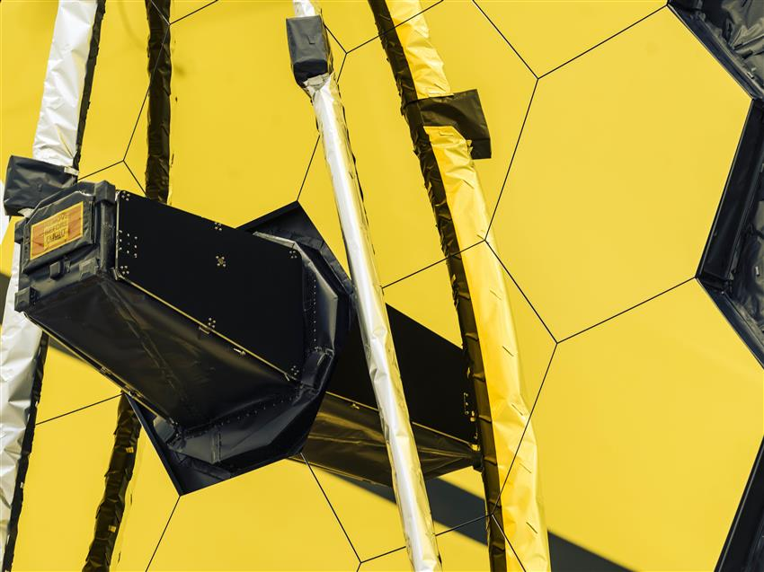 Webb's golden mirror