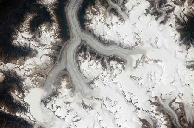 Le champ de glace Heiltskuk