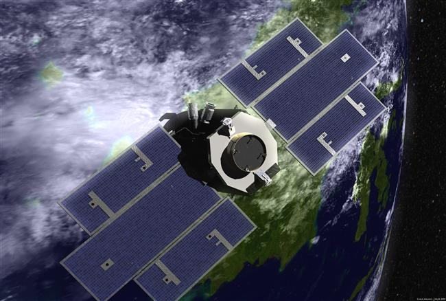 Illustration of CloudSat