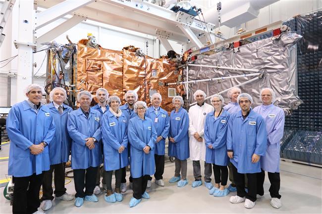 RCM satellite aces SAR panel deployment test!