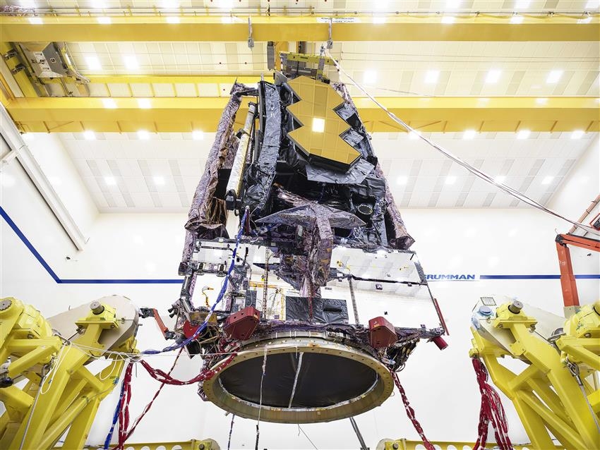 Final environmental tests on the James Webb Space Telescope