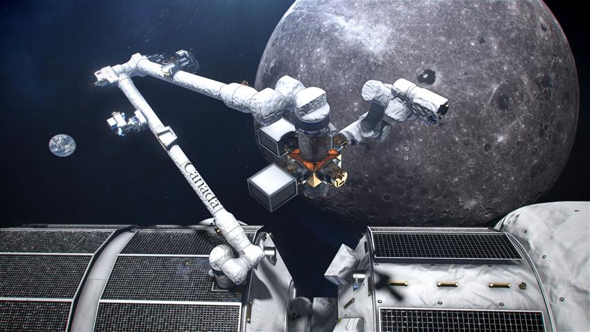 Canadarm3, Canada's smart robotic system for the Lunar Gateway
