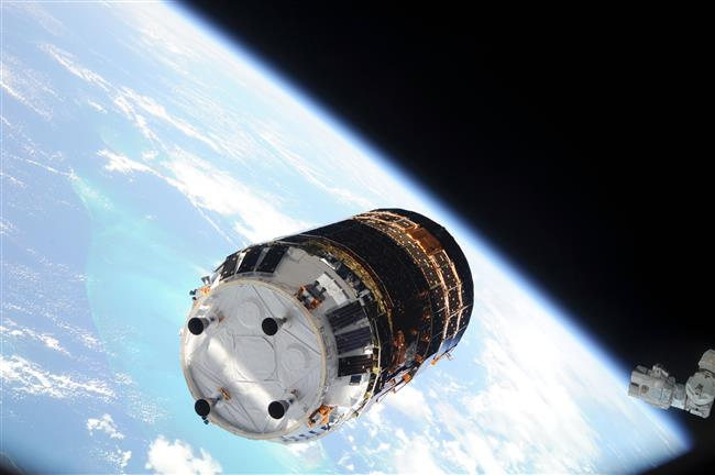 Close-up View of the Kounotori (HTV6)