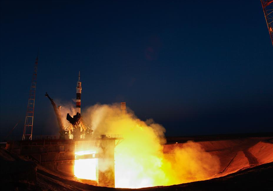 Lancement de la mission Expedition 34/35