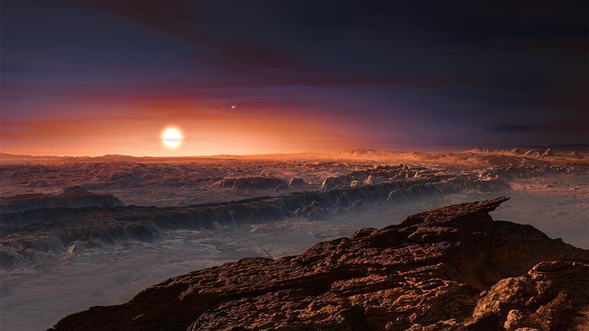 La planète Proxima b