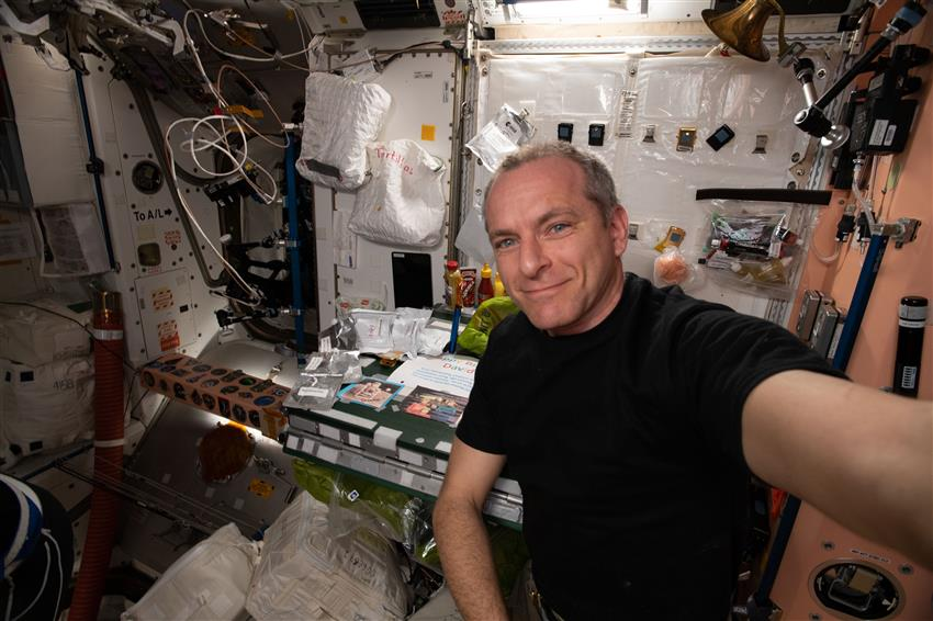 David Saint-Jacques aboard the International Space Station