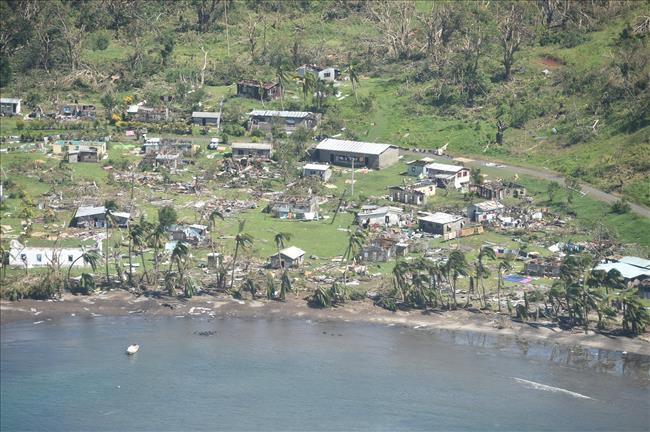 Cyclone Winston in Fiji