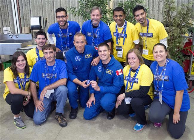 Photo of the Amazing Canadian Space Race teams