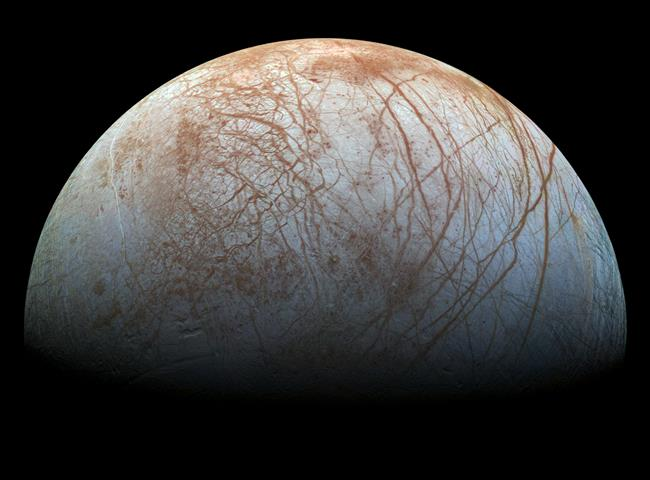 Europa, Jupiter's icy moon
