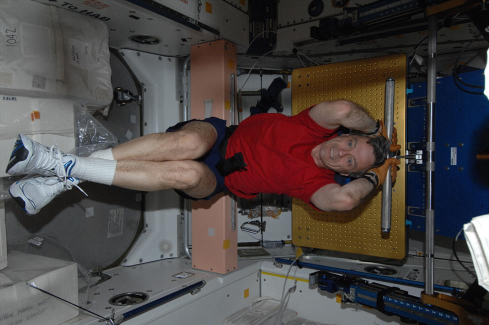 L'astronaute canadien Bob Thirsk