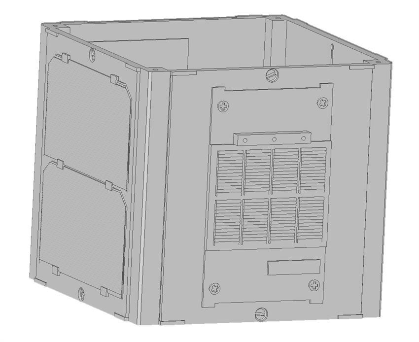 3D printing – model of a CubeSat