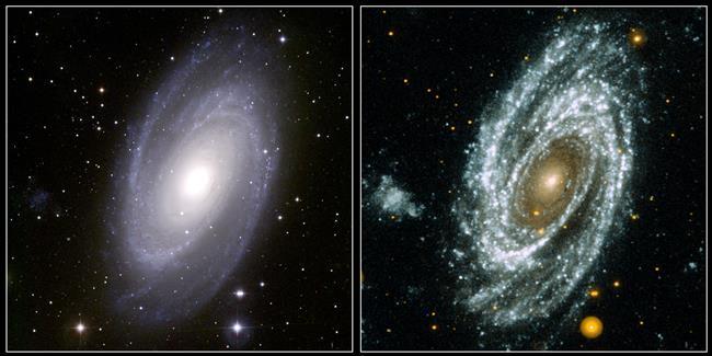 Voir une galaxie sous un jour différent