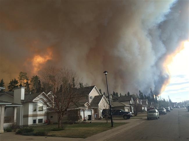 Forest Fires in Fort McMurray - May 2016