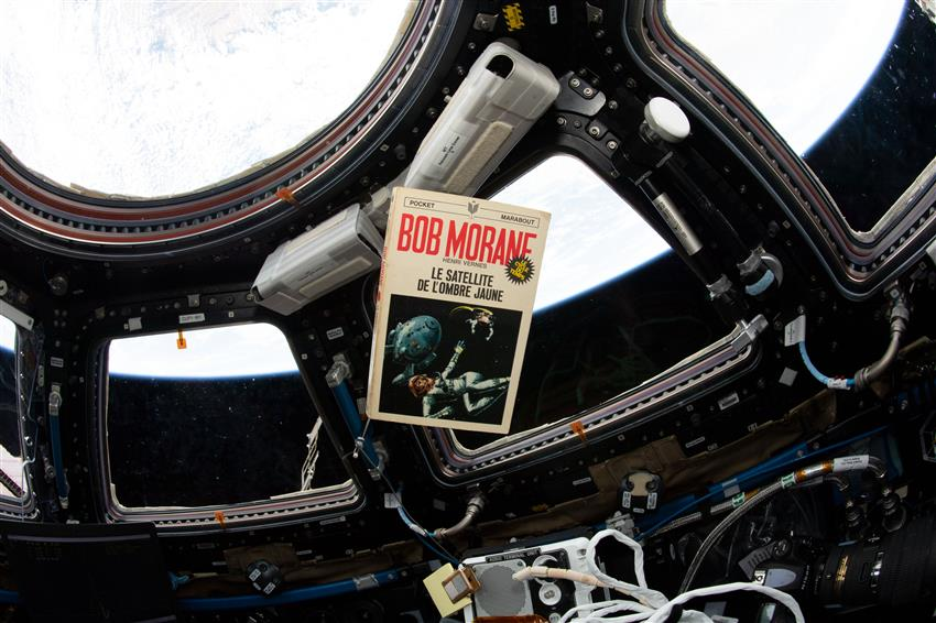 Book in space