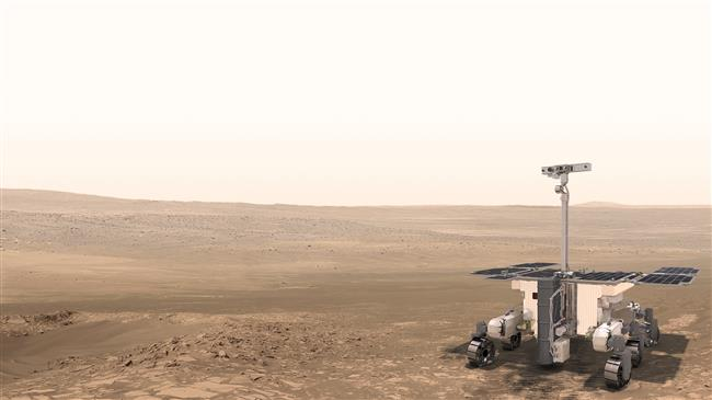 The European Space Agency's ExoMars rover