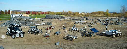 The Canadian Space Agency's Fleet of Rovers