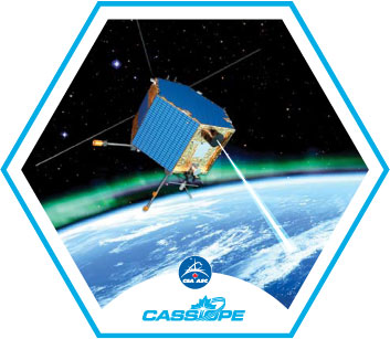 Logo of CASSIOPE (preliminary design))