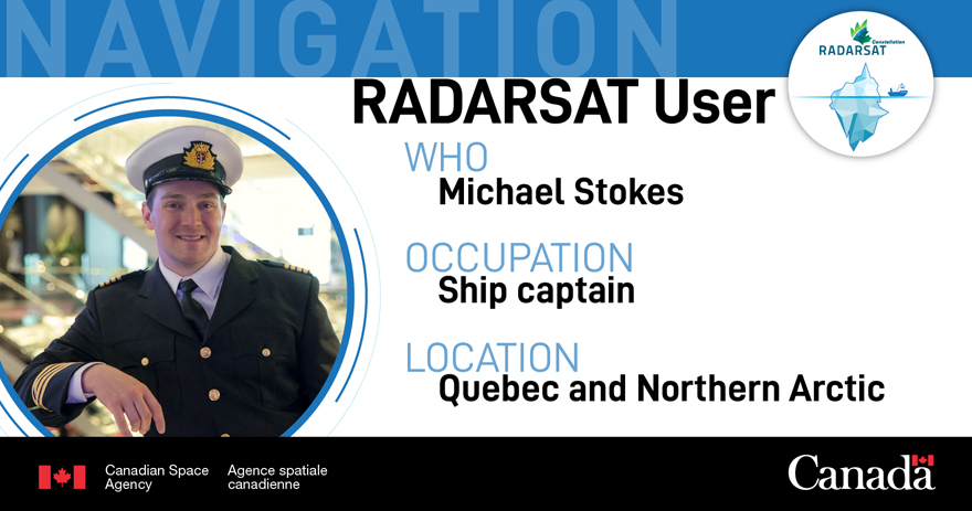RADARSAT user: ship captain