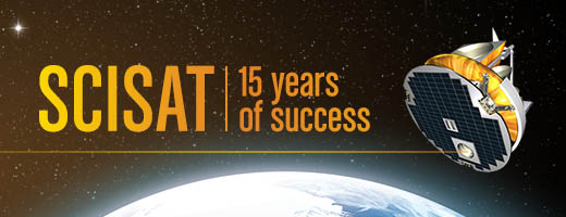 SCISAT, 15 years of success