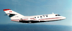 The current parabolic flight program accessible to Canadian experimenters is centered on the use of the National Research Council's (NRC) Falcon 20 aircraft.
